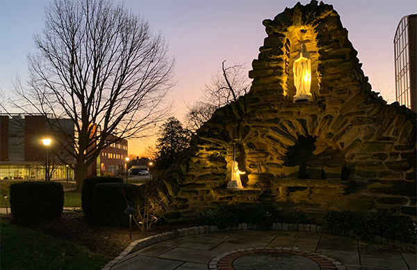La Salle Grotto at dawn
