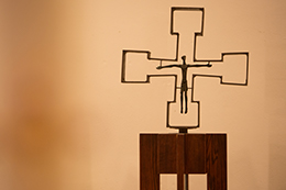 Crucifix in De La Salle Chapel