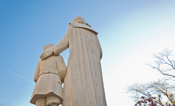 St. John Baptist de La Salle statue