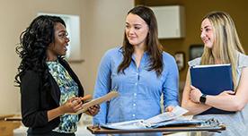 La Salle Nursing Students