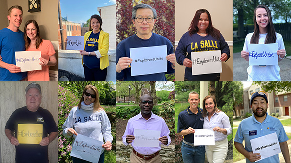 You're Invited! Virtual Celebration of the Class of 2020. Saturday May 9, 11 a.m. ET. #LaSalleGrad20